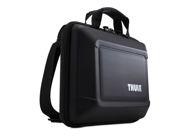 THULE hard shell Cover Holder Protector case for laptop with Polyurethane coated and adjustable nylon shoulder strap