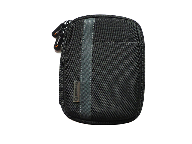 Essentiel B external hard disk drive pouch case made from EVA nylon mesh pocket inside elastic band