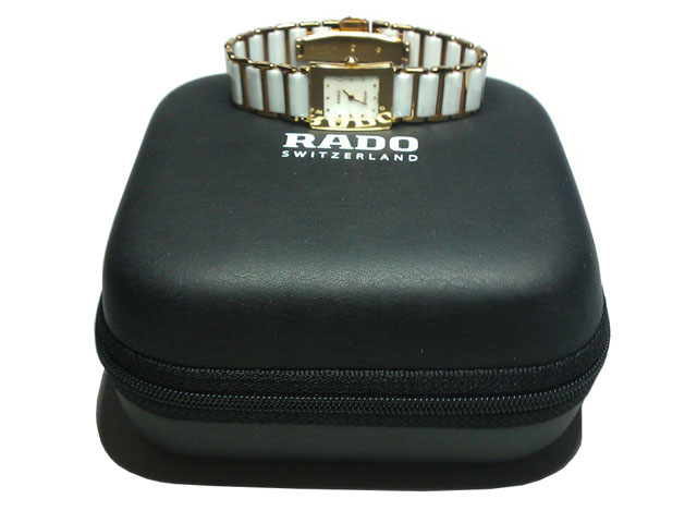 RADO EVA mens leather watch holder box with memory foam interior silk screen printing OEM available