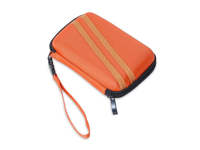 Hard drive usb 3.0 case EVA laminated nylon with wrist strap lower MOQ