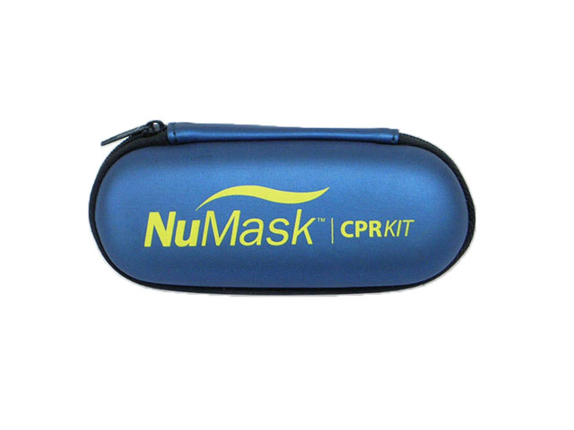 EVA Mask Device zippered storage carry case slim design silk screen printing logo custom available